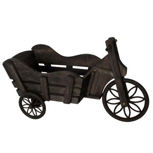 Burntwood Tricycle Planter
