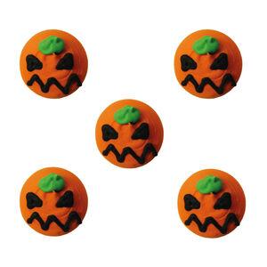 Halloween Pumpkin Handmade Icing Cake Toppers