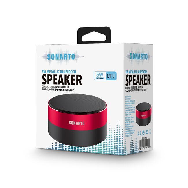 Sonarto 5W Metallic Bluetooth Speaker