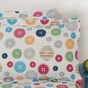 Button Tree Oxford Pillowcase Pair
