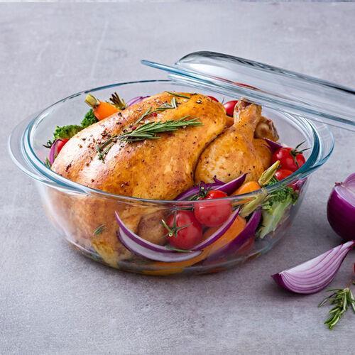 Pyrex Round Casserole Dish 0.75+0.35L (1.1L)