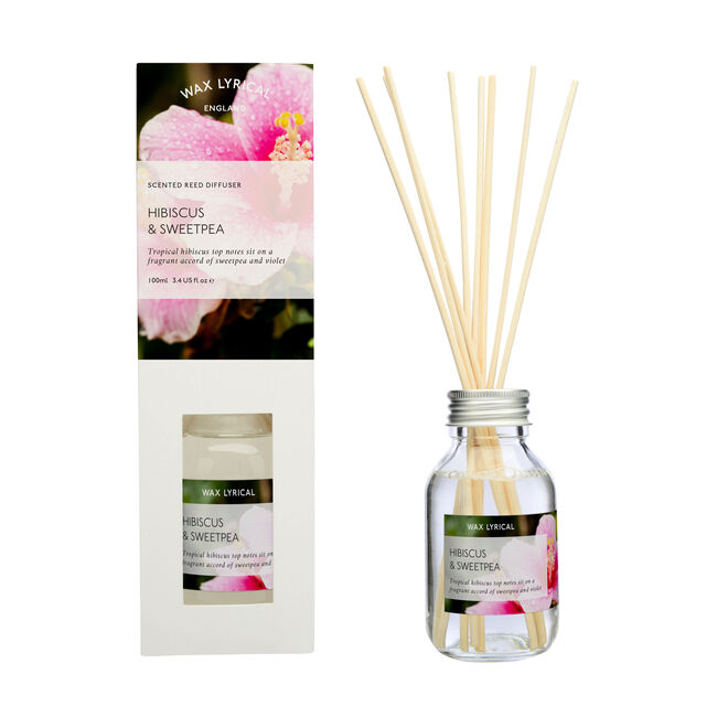 Hibiscus and Sweetpea 100ml Reed Diffuser