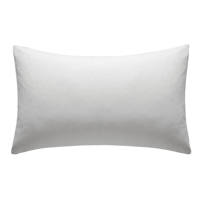 Percale White Housewife Pillowcases