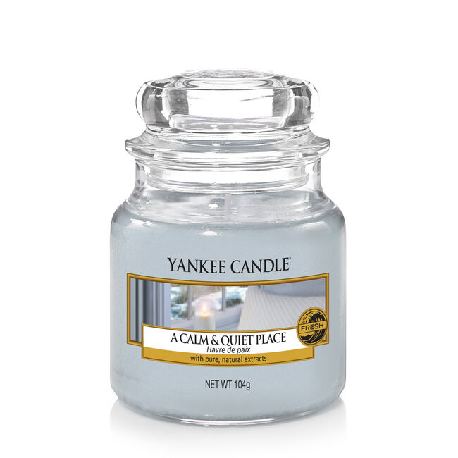 Yankee Candle A Calm and Quiet Place Small Jar