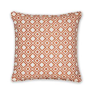 Diamond Jacquard Terra Cushion 45cm x 45cm