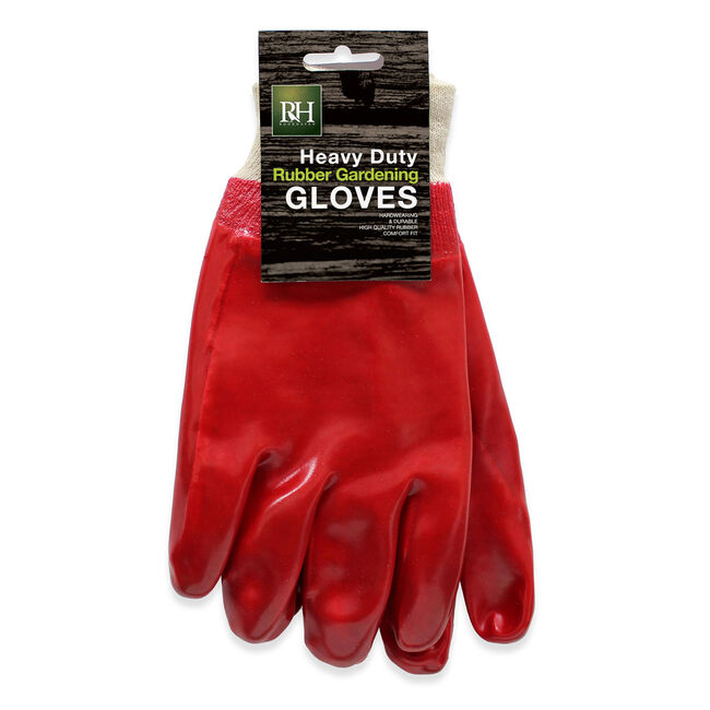 Heavy Duty Rubber Gardening Gloves