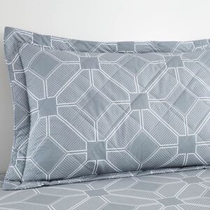 Marlin Grey Pillowshams 50cm x 75cm
