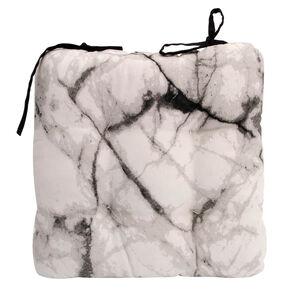 Marble Black/White Kitchen Seat Pad