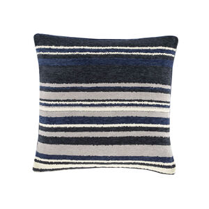 Rhea Stripe Cushion 45 x 45cm - Navy