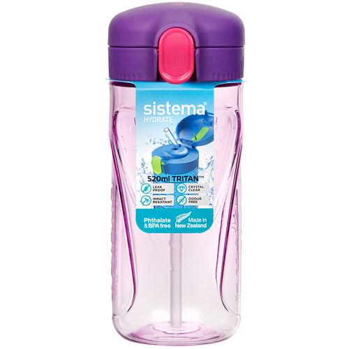 Sistema Tritan Quick Flip Bottle 520ml