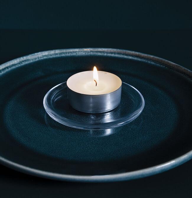 Bolsius Glass Round Tealights Holder