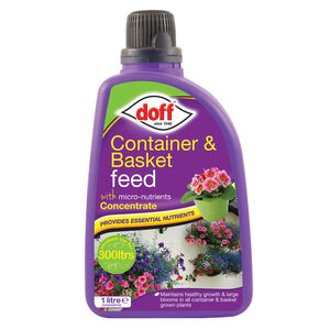 Doff Container & Basket Liquid Feed