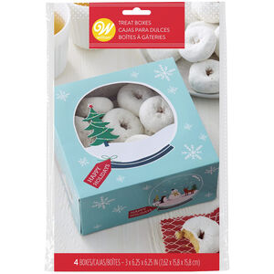 Wilton Snowflake 3 Cookie Boxes