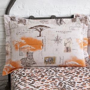 Savanna Oxford Pillowcase Pair - Natural