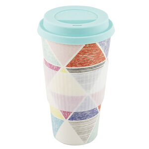 Multi Triangle Sketch Sippy Mug