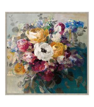 Autumn Bouquet Framed 69x69cm