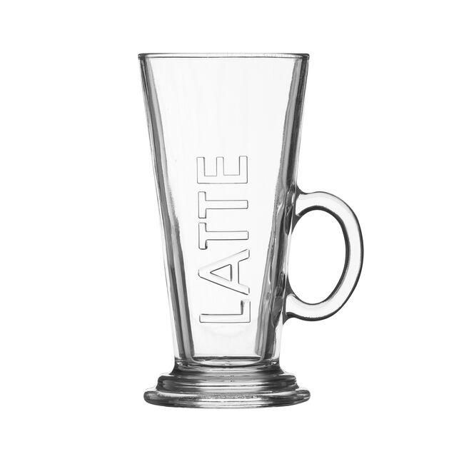 Entertain Embossed 2 Latte Glasses Set