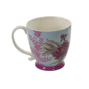 Kensington Peony Pink Footed Mug