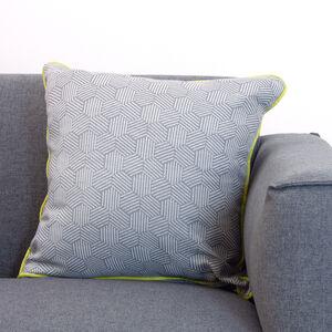Neon Steel Cushion 58x58cm