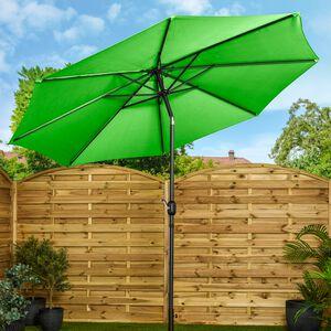 3M Crank & Tilt Sun Parasol - Bright Green