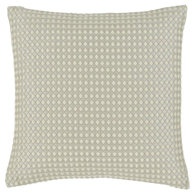 Waffle Raised Cushion 45x45cm - Natural