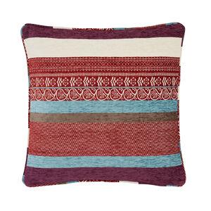 Isla Geo Purple Cushion 58cm x 58cm