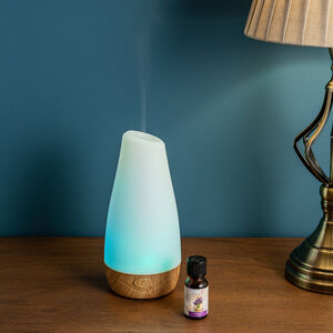 Aeromatic Ultrasonic Aroma Diffuser Wooden Effect