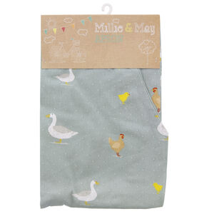 Country Farm Apron - Duck Egg
