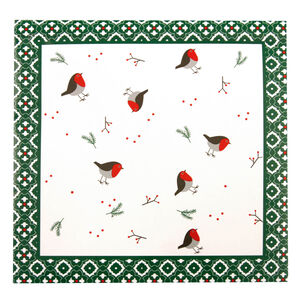 Christmas Robin Napkins 20pk