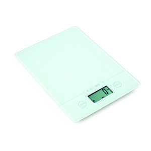 Camry White Rectangular Electronic Kitchen Scale