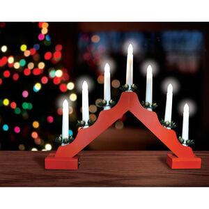 Christmas Candlebridge Lights Red