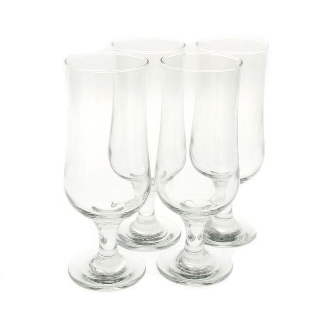 Tulip Stemmed Beer Glasses 4 Pack