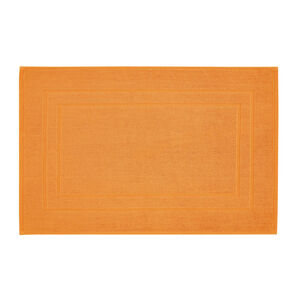 1000GSM Chelsea Orange Bath Mat 50cm x 80cm