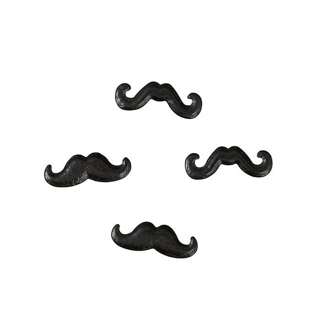 Wilton Sprinkles Mustaches - Black