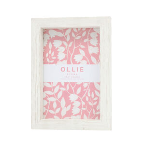 "Ollie Photo Frame 4x6"" - Stone"
