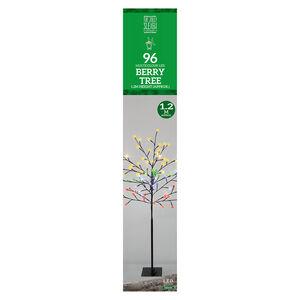 1.2M LED Multicolour Berry Tree