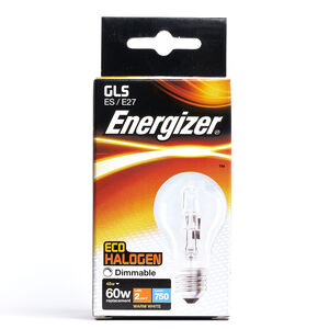 Eco Clear GLS ES (E27) 2 Halogen Bulbs 48W