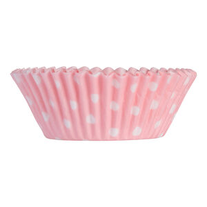 Mason Cash 40 Pink Polka Dot Mini Cupcake Cases