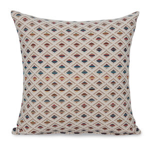 Iona Diamond Cushion 58x58cm - Natural