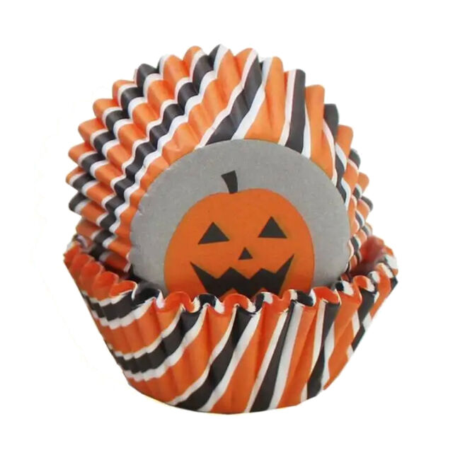 Wilton Halloween Pumpkin Mini Cupcake Cases