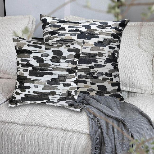 Jenny Cushion 58 x 58cm - Charcoal