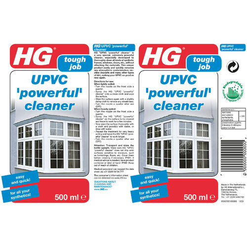 HG UPVC Cleaner 500ml