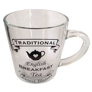 Breakfast Glass Mug