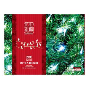200 Ultra Bright LED Chaser Lights White