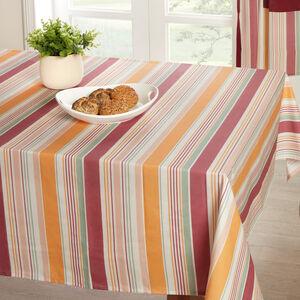 Woven Stripe Table Cloth 160x230cm