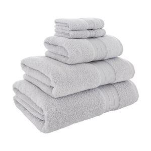 450GSM  ZERO TWIST DOVE GREY 30*30 Face Towel 2pk