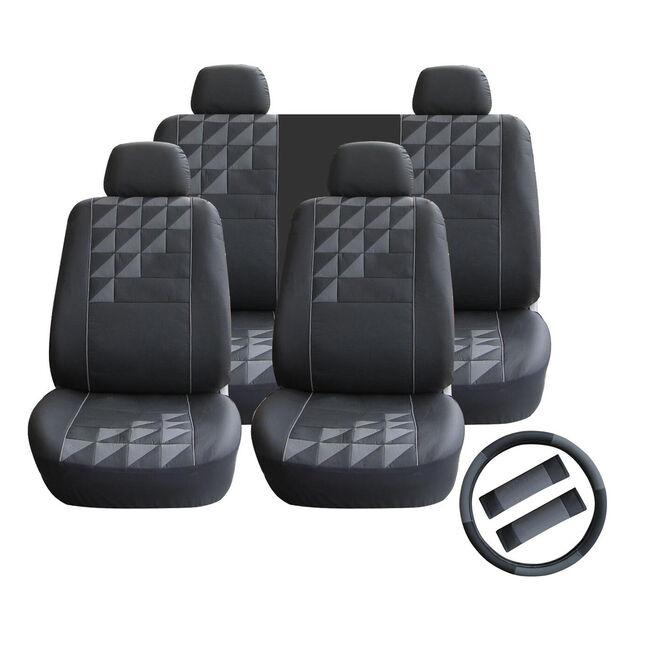 Universal Car Seat Cover Set 11 Piece