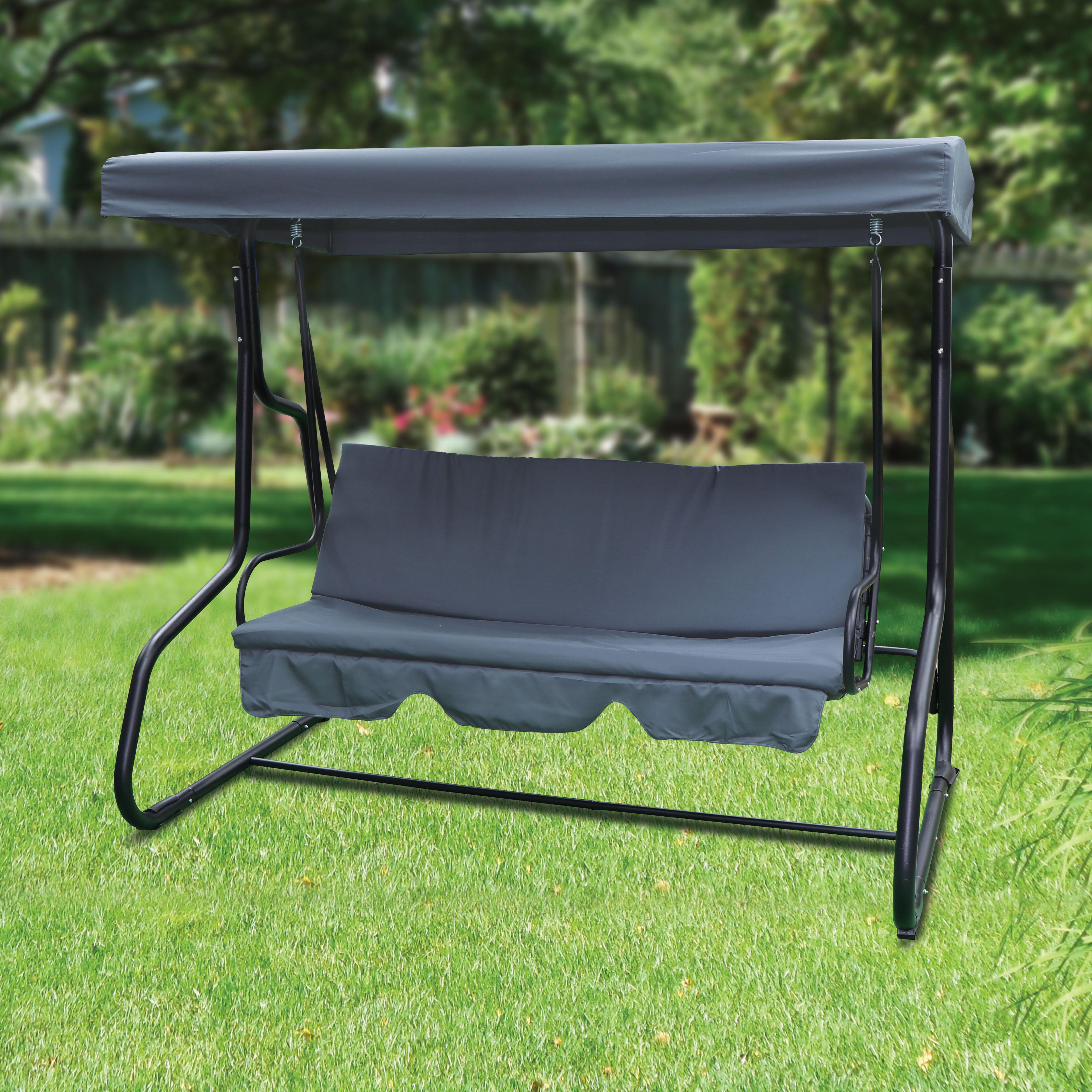 3 Seater Luxury Garden Swing Chair
