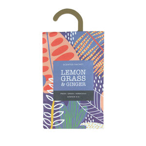 Lemongrass & Ginger Fragrance Sachet