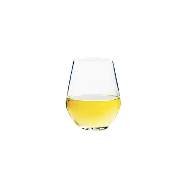Concerto Stemless White Wine Glasses